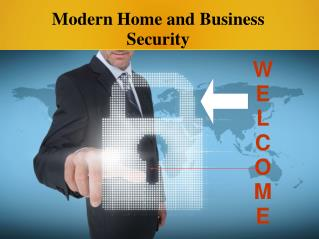 Modern Home and Business Security