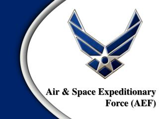 Air & Space Expeditionary Force (AEF)