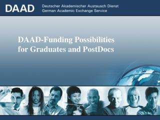 DAAD-Funding Possibilities  for Graduates and PostDocs