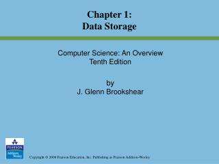 Chapter 1: Data Storage