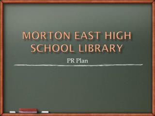 Morton East High School Library
