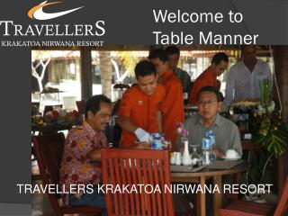 Welcome to Table Manner