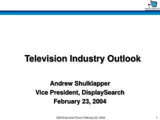 Television Industry Outlook