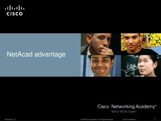 NetAcad advantage