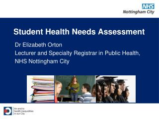 Student Health Needs Assessment