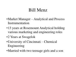 Bill Menz