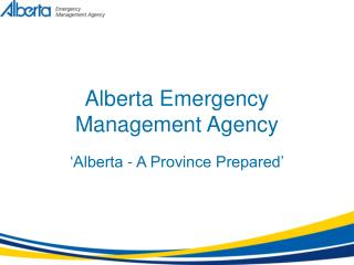 Alberta Emergency Management Agency