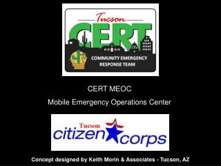 CERT MEOC Mobile Emergency Operations Center