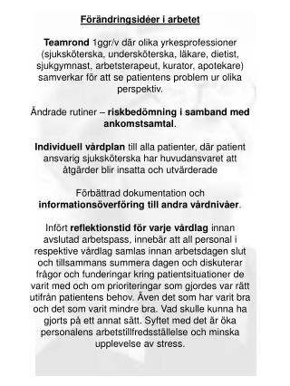 Vårdprevention