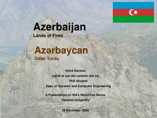 Azerbaijan Lands of Fires