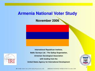 Armenia National Voter Study