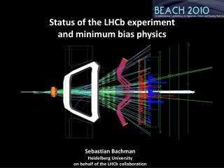 Status of the LHCb experiment and minimum bias physics