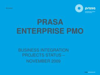 PRASA  ENTERPRISE PMO