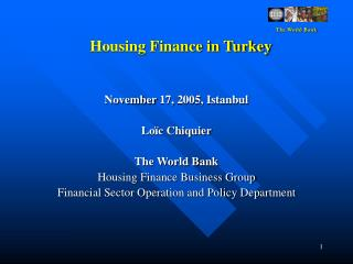Housing Finance in Turkey