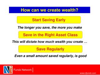 How can we create wealth?