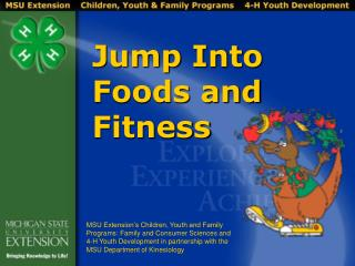 Jump Into Foods and Fitness