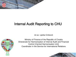 Internal Audit Reporting to CHU
