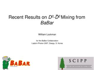 Recent Results on  D 0 - D 0  Mixing from  BaBar