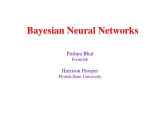 Bayesian Neural Networks