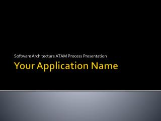 Your Application Name