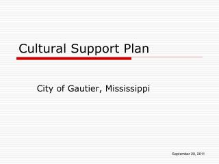 Cultural Support Plan