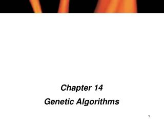Chapter 14 Genetic Algorithms
