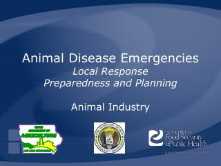 Animal Disease Emergencies Local Response Preparedness and Planning