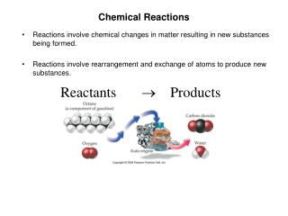 a review of the experiment of abstract chemical reactions used to produce electricity 2) decomposition reactions • this is a chemical change where a single compound (the reactant) breaks down into two or more simpler products.