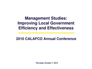 Management Studies: Improving Local Government  Efficiency and Effectiveness  .gif