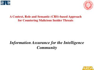 A Context, Role and Semantic (CRS)-based Approach  for Countering Malicious Insider Threats
