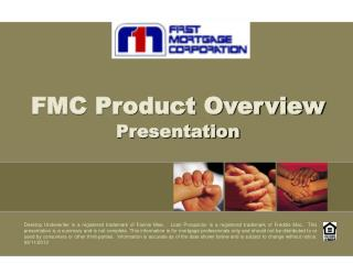 FMC Product Overview Presentation