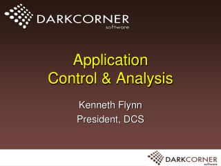 Application  Control & Analysis