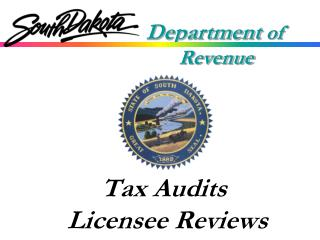 Tax Audits Licensee Reviews
