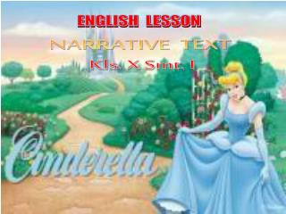 NARRATIVE  TEXT  Kls . X Smt. I