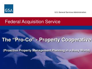 "The ""Pro-Co"" - Property Cooperative (Proactive Property Management Planning in a Busy World)"
