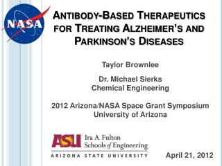 Antibody-Based Therapeutics for Treating Alzheimer's and Parkinson's Diseases
