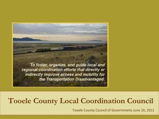 Tooele County Local Coordination Council