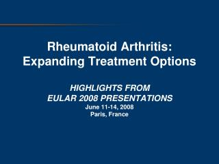 Rituximab is Approved  After Failure with 1 anti-TNF a  Inhibitor