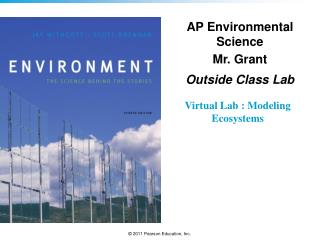 Virtual Lab  :  Modeling Ecosystems
