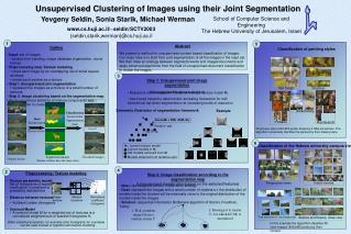 joint segmentation of all the images in the input set. We then draw an analogy between segments/words and images/documen