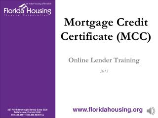 Online Lender Training 2013