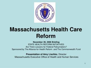 Massachusetts Health Care Reform