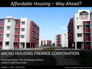 Affordable Housing – Way Ahead?