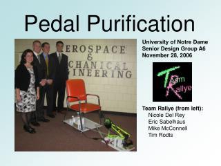 Pedal Purification