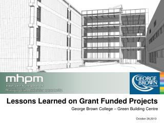 Lessons Learned  on Grant Funded Projects