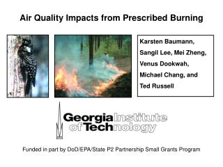Air Quality Impacts from Prescribed Burning