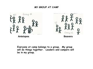 MY GROUP AT CAMP