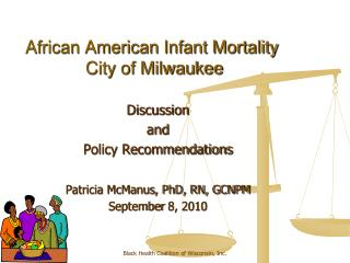 African American Infant Mortality  City of Milwaukee