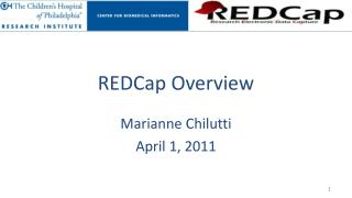 REDCap Overview
