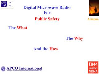 Digital Microwave Radio  For